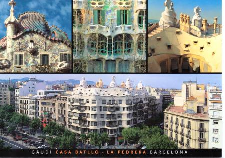 Barcelona Catalonia Postcard