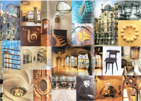Gaudi Casa Batlo Barcelona Catalonia Spain