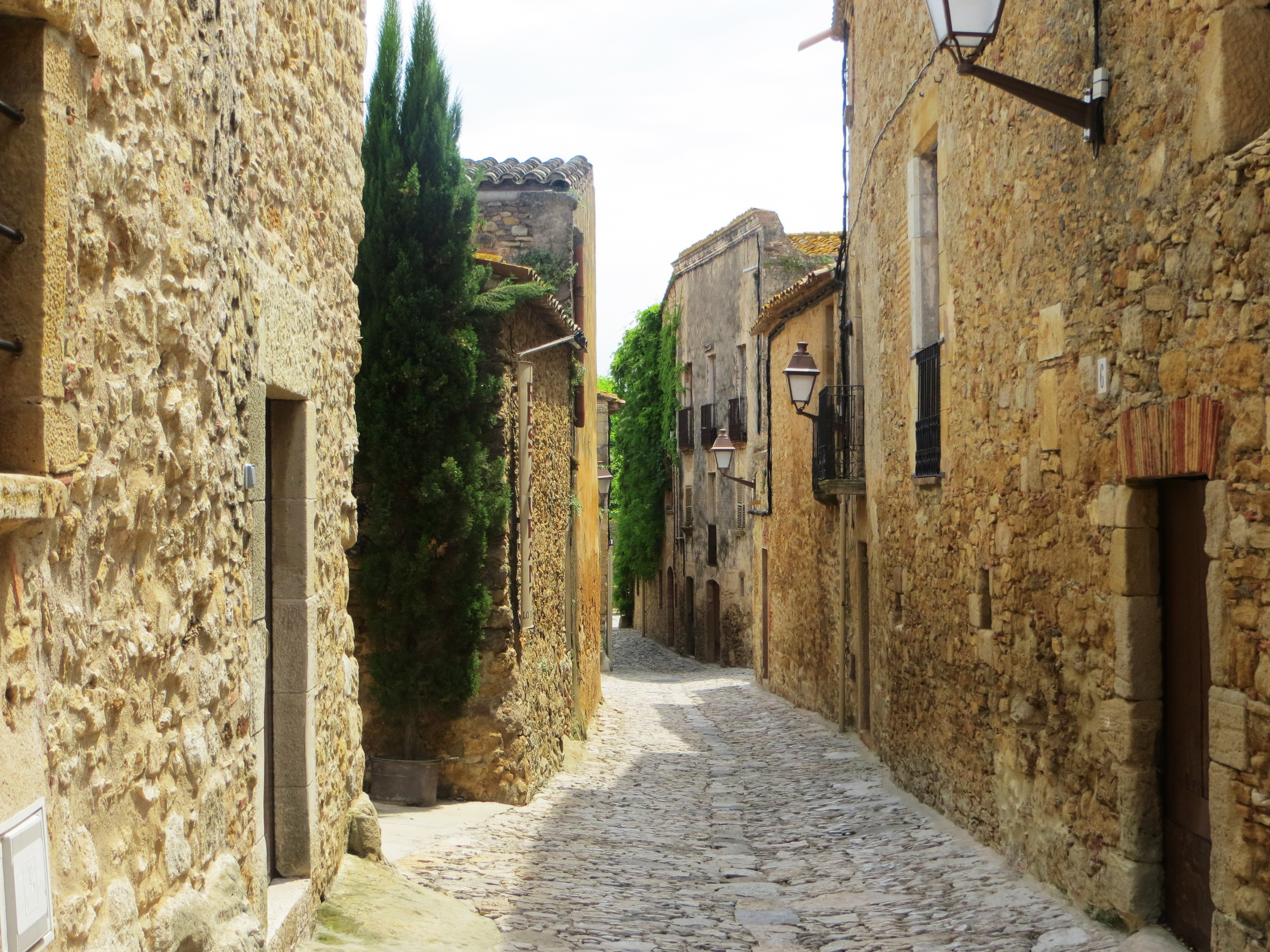 Catalonia A Medieval Village And A Mountain Drive Have