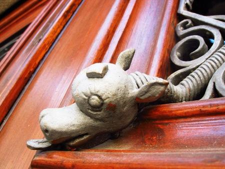 Catalonia Door Detail Girona