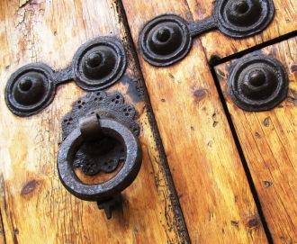 Catalonia Spain Door Detail