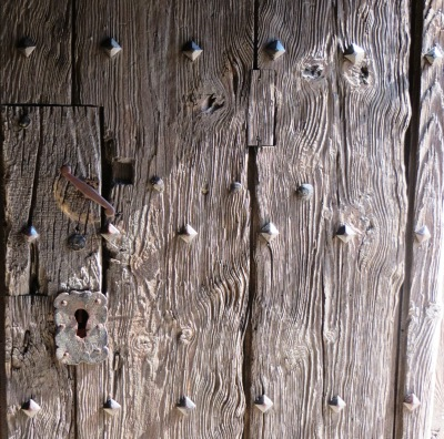 Catalonia Wooden Door Detail