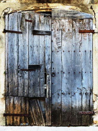 Wooden Door of Catalonia Besalu