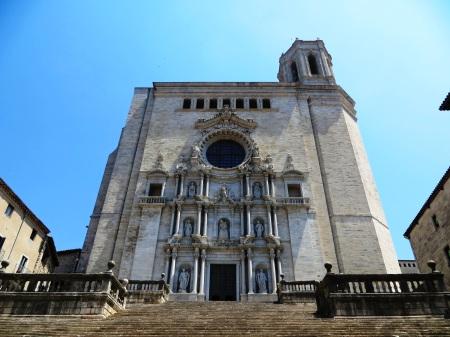 Girona Catalonia Spain Cathedral