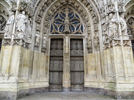 Saint Vulfran Collegiate Church Abbeville France