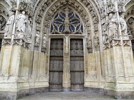 Saint Vulfran Collegiate Church Abbeville France