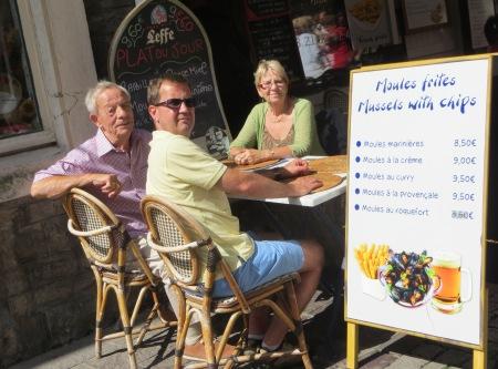 Boulogne-Sur Mer Moules et Frites