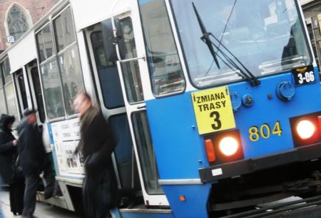 Krakow Poland Tram