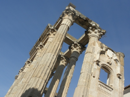 Temple of Diana, Merida, Extremadura Spain