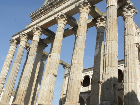 Temple of Diana, Merida, Extremadura, Spain