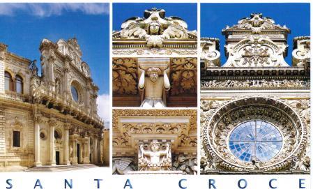 Lecce Puglia Italy Santa Croce