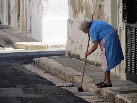 Bari Italy Puglia Street Sweeping
