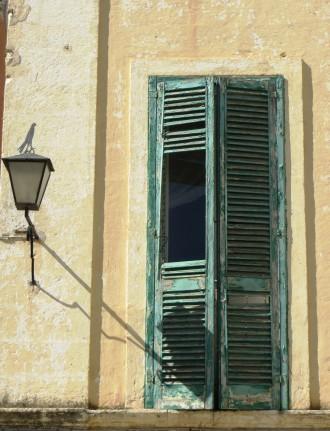 Shuttered Door Polignano a Mare Puglia Italy