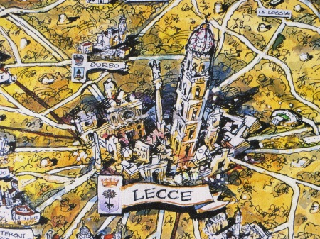 Lecce Puglia Italy