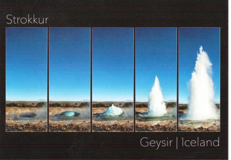 Stockur Geysir Iceland Geysir Golden Circle