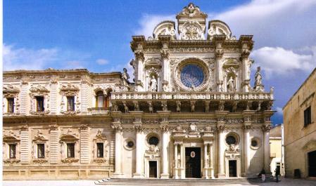 Santa Croce Lecce Puglia Italy