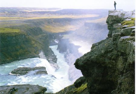 Gullfoss Water Fall Iceland