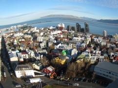 Reykjavikk Skyline from Hallgrímskirkja,