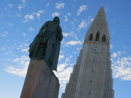 Lief Ericson Reyjkavik Iceland