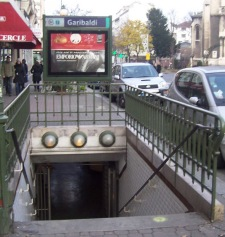 Garibaldi Metro Station