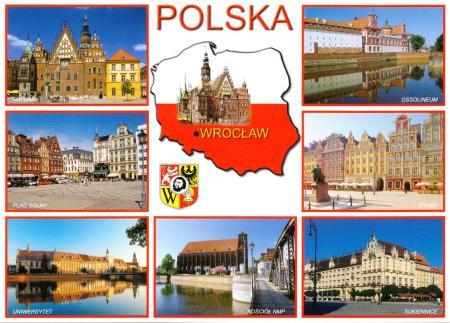 Wroclaw Postcard
