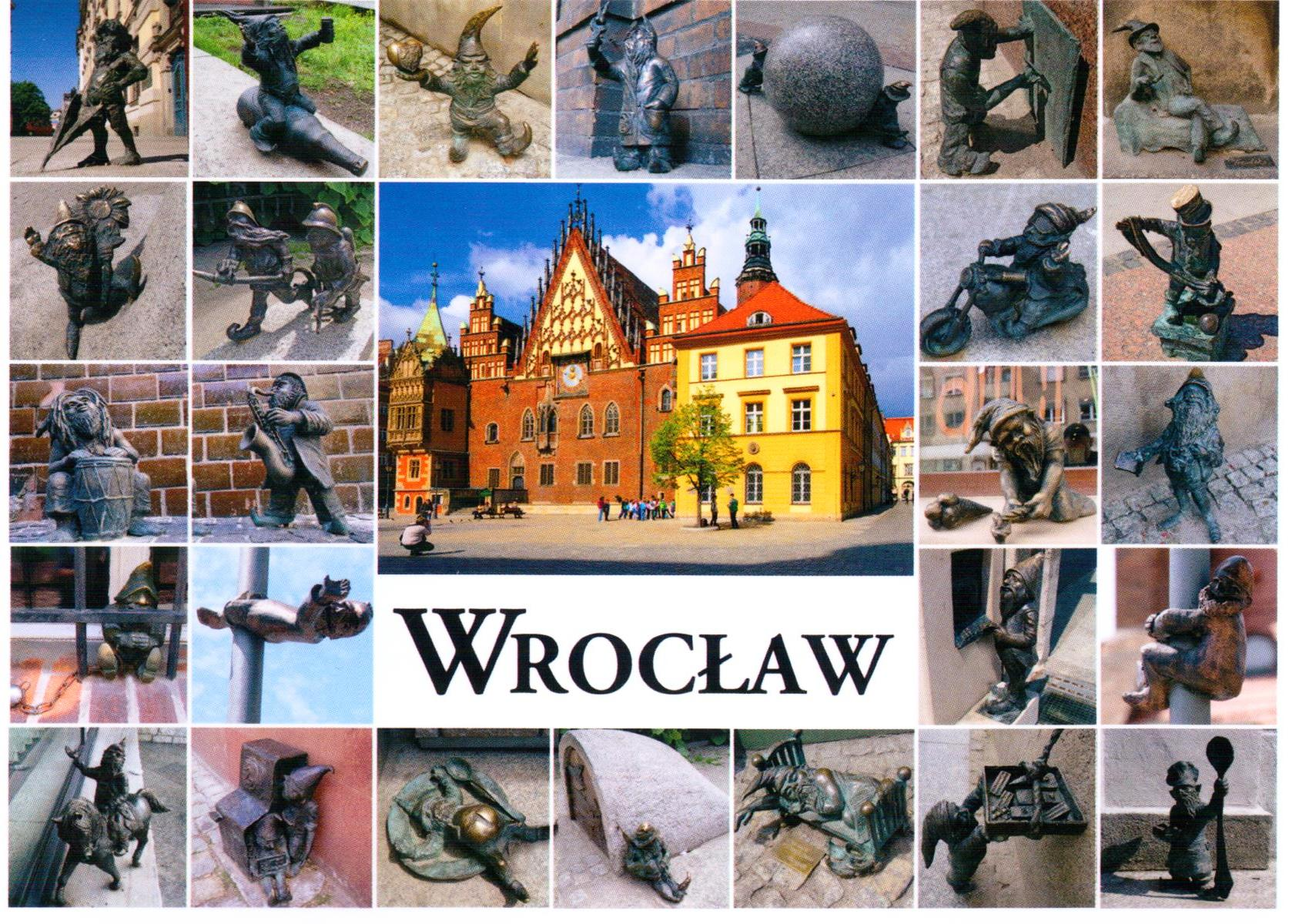Map of dwarfs Wroclaw Have Bag Will Travel