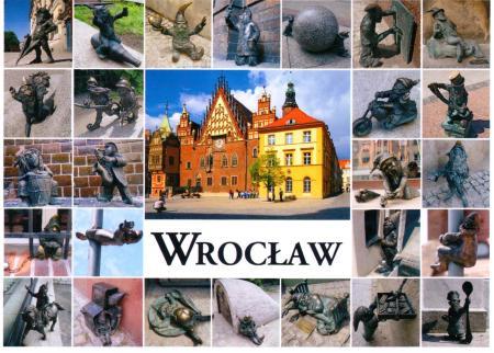 Wroclaw Dwarfs Postcard