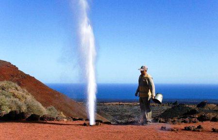 Lanzarote Steam Geyser Timanfaya National Park