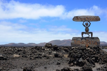 Timanfaya Lanzrote Fire Mountain Canary Islands