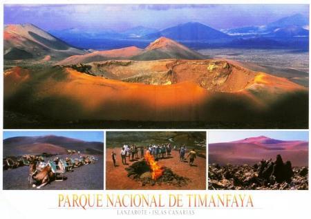 Lanzarote Fire Mountain