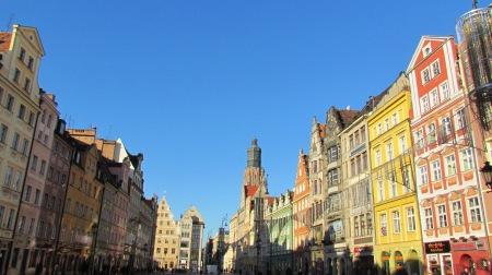 Wroclaw Poland Market Square