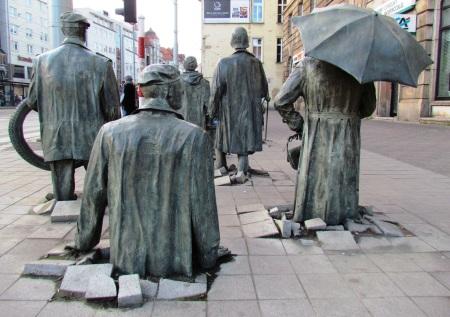 Wroclaw Anonymous Pedestrians Poland