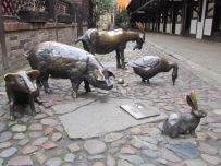 Farm Animal Sculptures Wroclaw