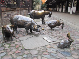 Farm Animal Sculptures Wroclaw
