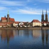 Cathedral Island Wroclaw poland