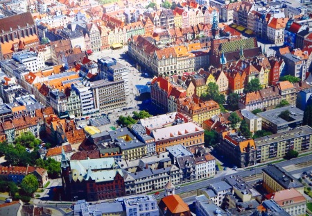 Wroclaw Arial View