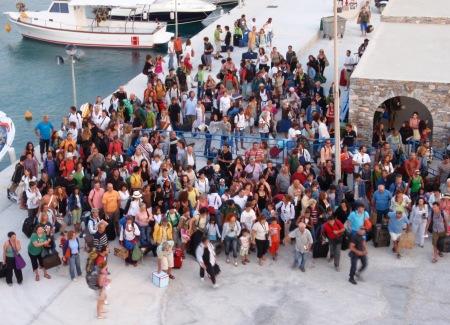 Koufinisia Greece Ferry Terminal