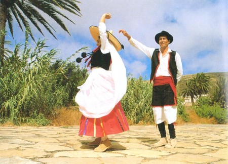 Fuertuventura Postcard Traditional Dancers