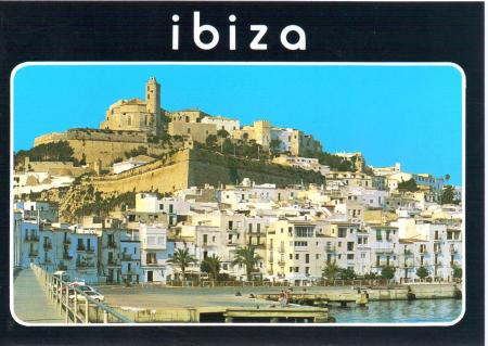 Ibiza Spain Postcard