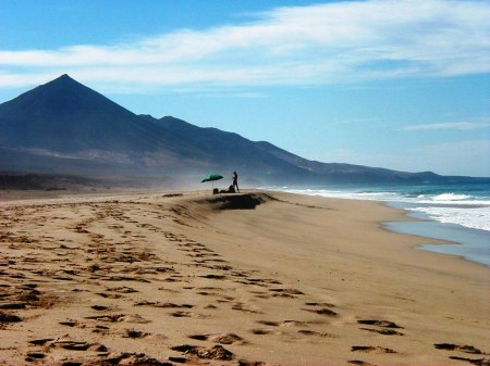 Cofete Beach Fortuventura Canary Islands Spain