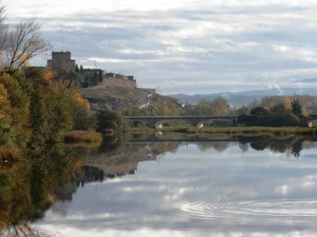 Ciudad Rodrigo river and bridge