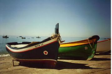 Algarve Fishing Boats