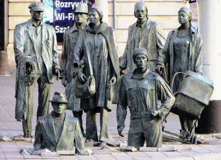 Anonymous Pedestrians Wroclaw Poland