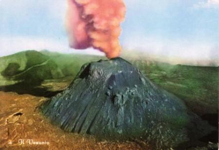 Vesuvius Postcard