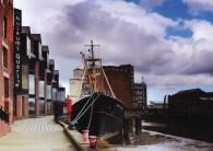 Arctic Corsair Hull Postcard