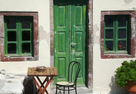 Santorini Greek Door