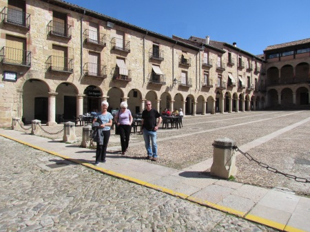 Plaza Mayor Siguenza Spain