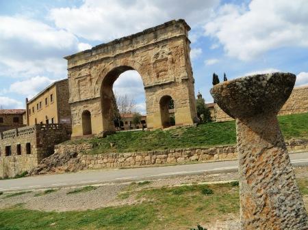 Roman Arch Medinaceli Spain