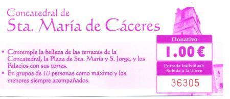 Cáceres Iglesia de Santa Maria