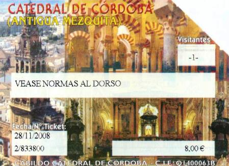 Cordoba Cathedral Entrance Ticket